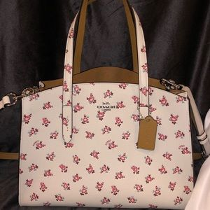 12dcf33fc21c Coach Bags - Coach Charlie carryall with floral bloom